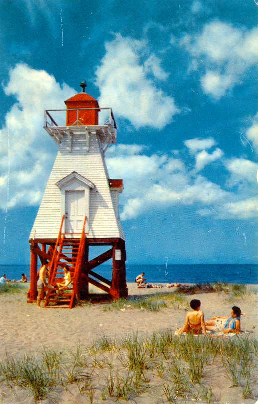 Lighthouses of Canada: Northern New Brunswick