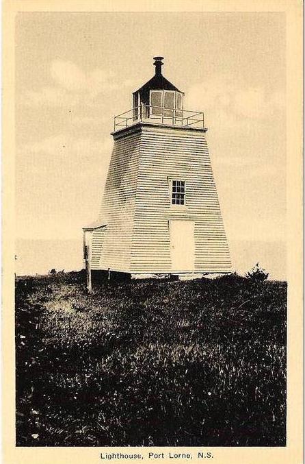 Lighthouses Of Canada Western Nova Scotia - Discontinued lighthouse border