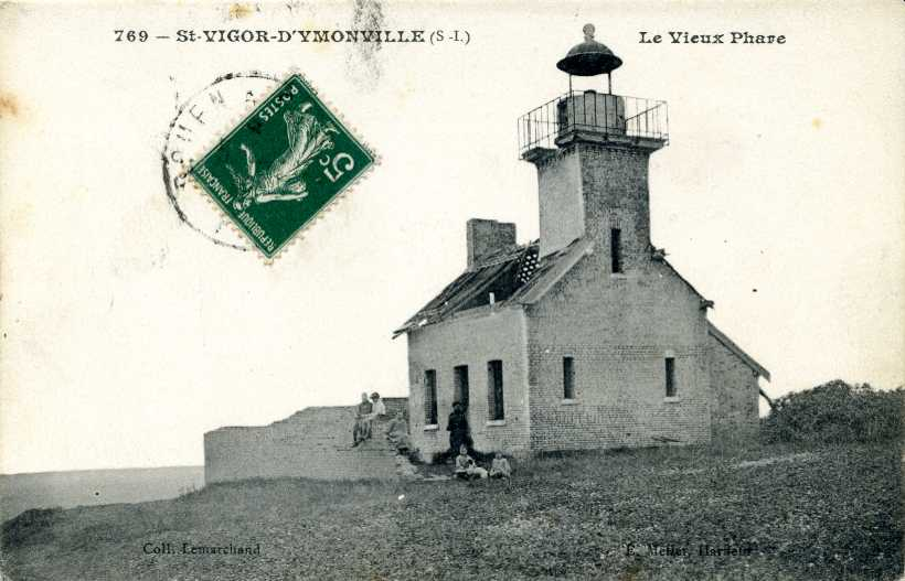 Lighthouses of france: haute normandie