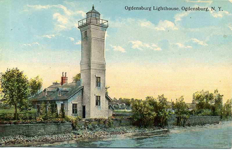 Lighthouses of the us central and northern new york a satellite view and a very distant street view from the oswegatchie river bridge ny 68 in 1964 the city of ogdensburg declined to buy the lighthouse sciox Choice Image