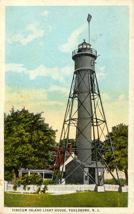 Paulsboro (NJ) United States  City new picture : Lighthouses of the United States: New Jersey